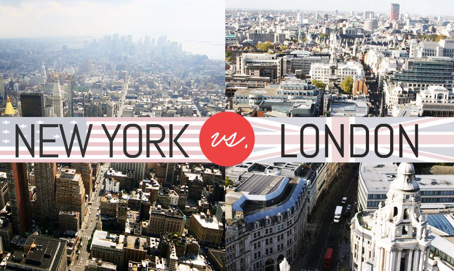 Fashion Week Wrapup: A New York vs London Infographic