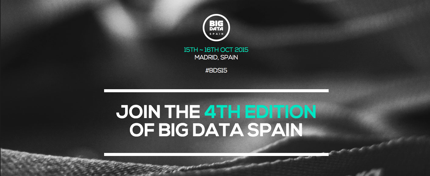 Our data experts bring fashion to the Big Data Spain conference!