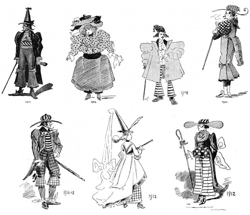 Predictions of future fashion by illustrators from 1893 are weird