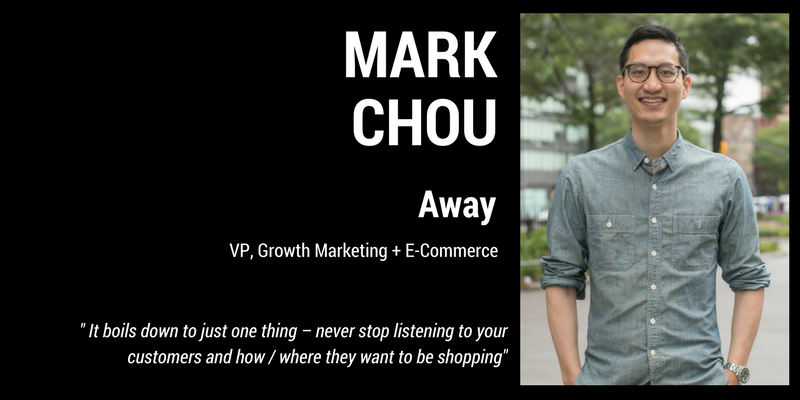 Meet The Expert: Mark Chou at Away
