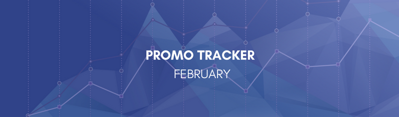 February Promotional Tracker