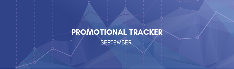 September Promotional Tracker