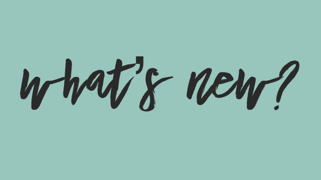 What's New: March 25