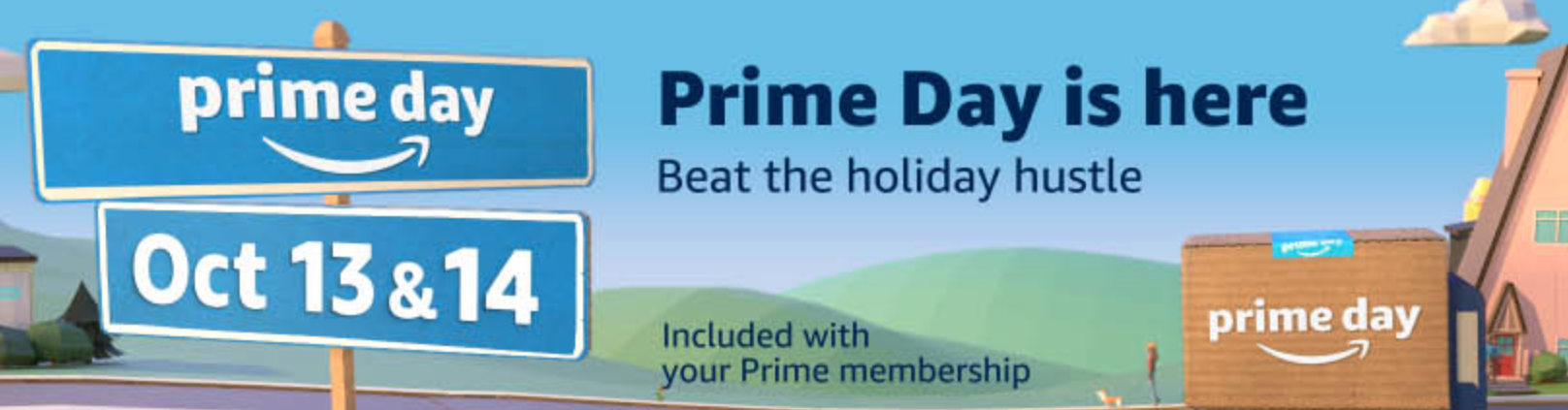 Hello Holiday Season: It's Prime Day
